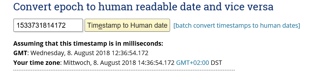 convert milliseconds to date