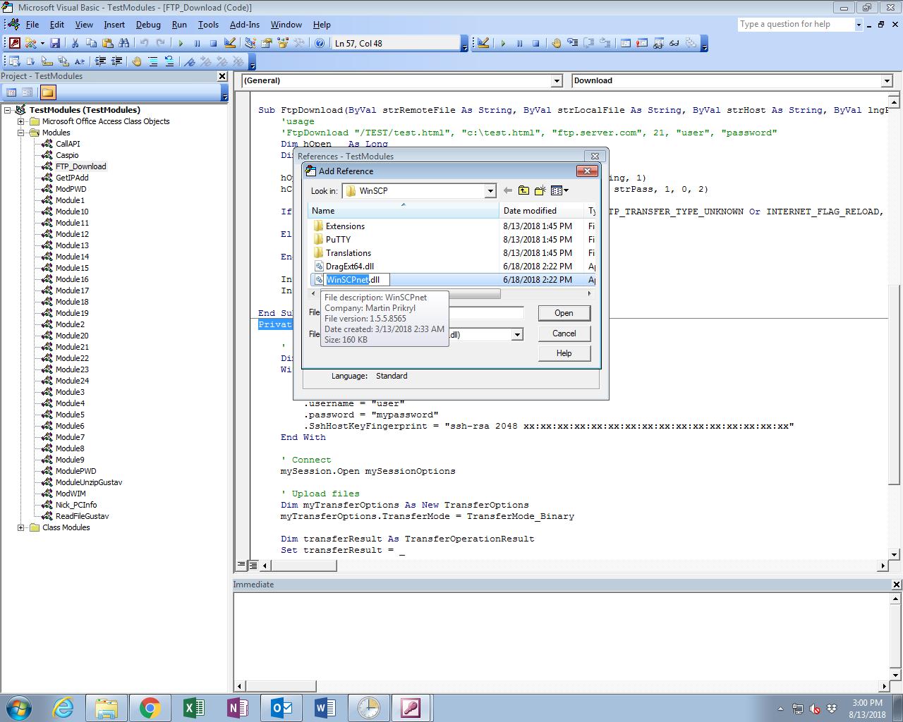 Looking to convert script into VBA code