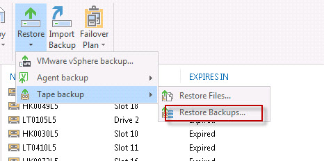 there is not enough space for backup file
