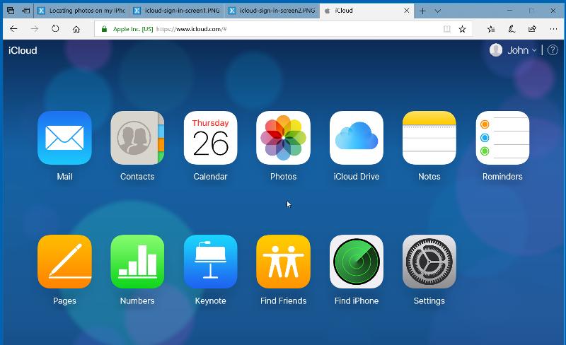 iCloud-Log-In.