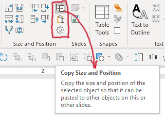 YOUtools Copy Size and Position tool