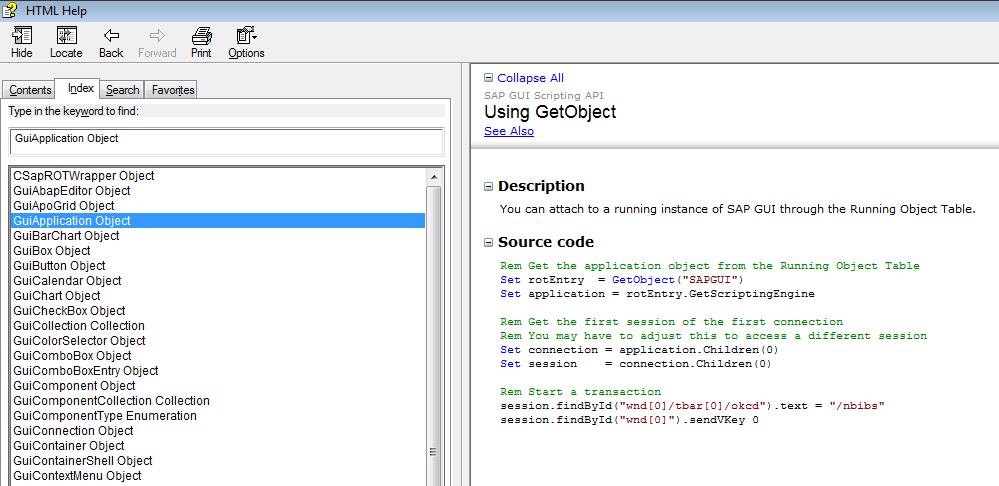 Python - how to get the attributes/methods of SAP GUI