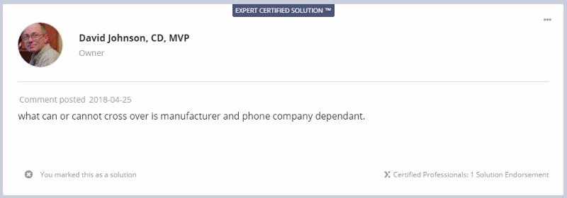 expert certified