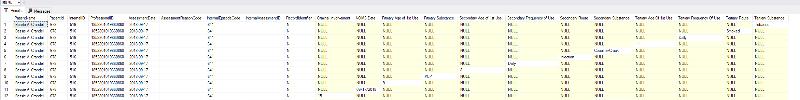 SQL Results