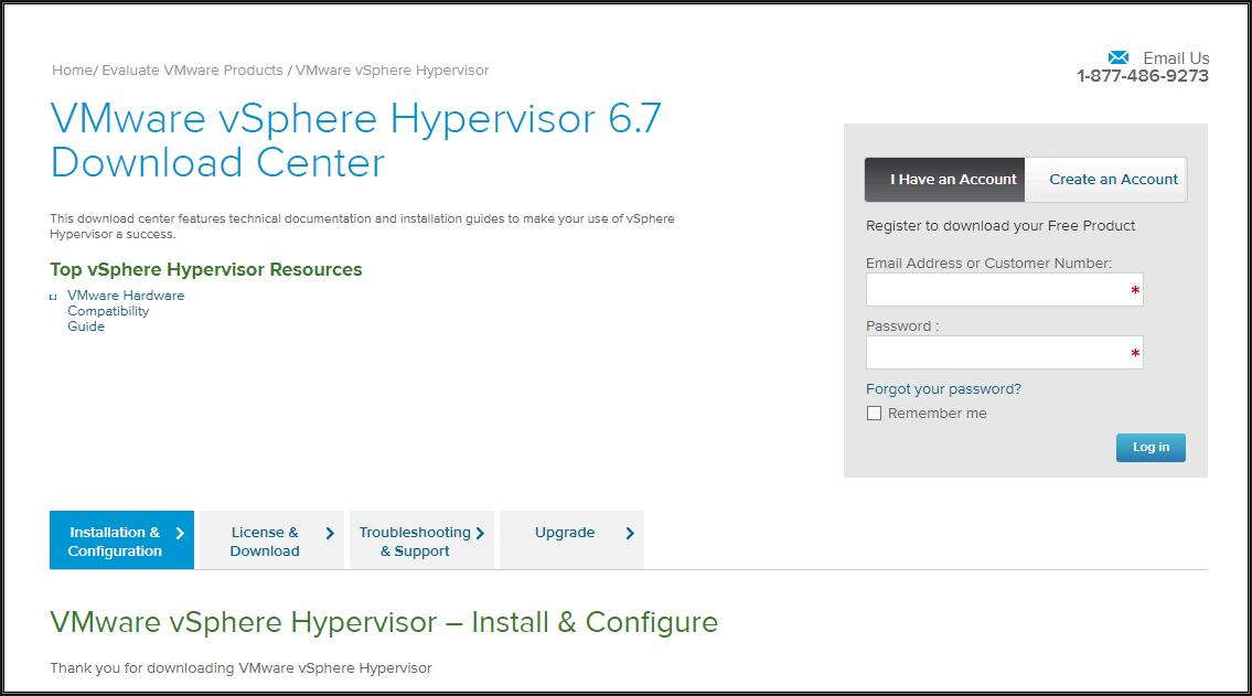 HOW TO: Install and Configure VMware vSphere Hypervisor 6 7