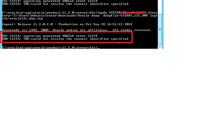 import oracle DMP files using sqlplus or SQL developer