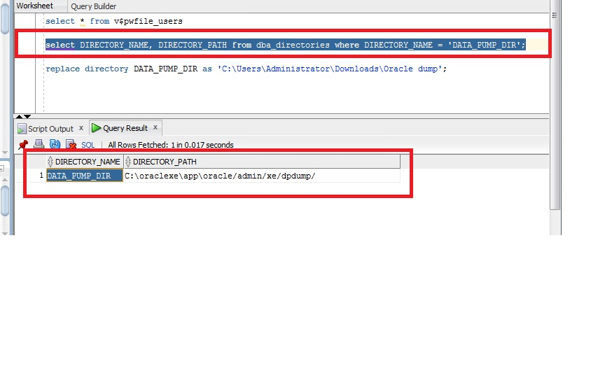 Error when connecting to newly installed Oracle 11gR2