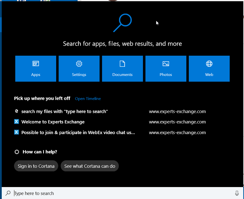 Windows-10-Generic-Search
