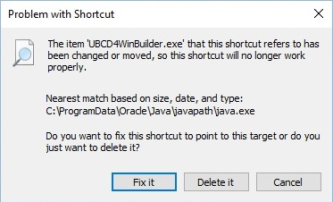 UBCD4Win-shortcut-missing