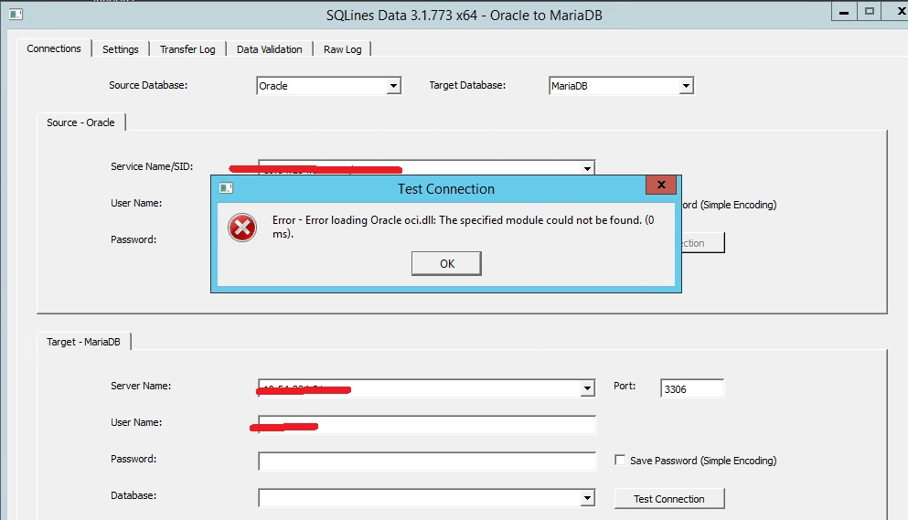 using SQL data to migration schema and data from Oracle to