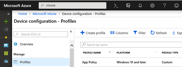 Microsoft Intune Windows Information Protection (WIP) for Windows 10