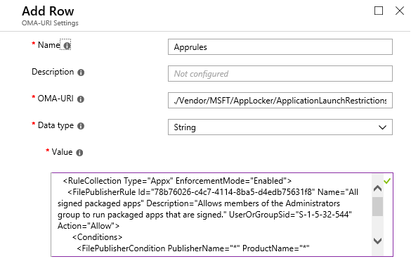 Microsoft Intune Windows Information Protection (WIP) for