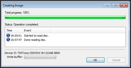 HOW TO: Create an ISO CD-ROM/DVD-ROM image (* iso), and MD5