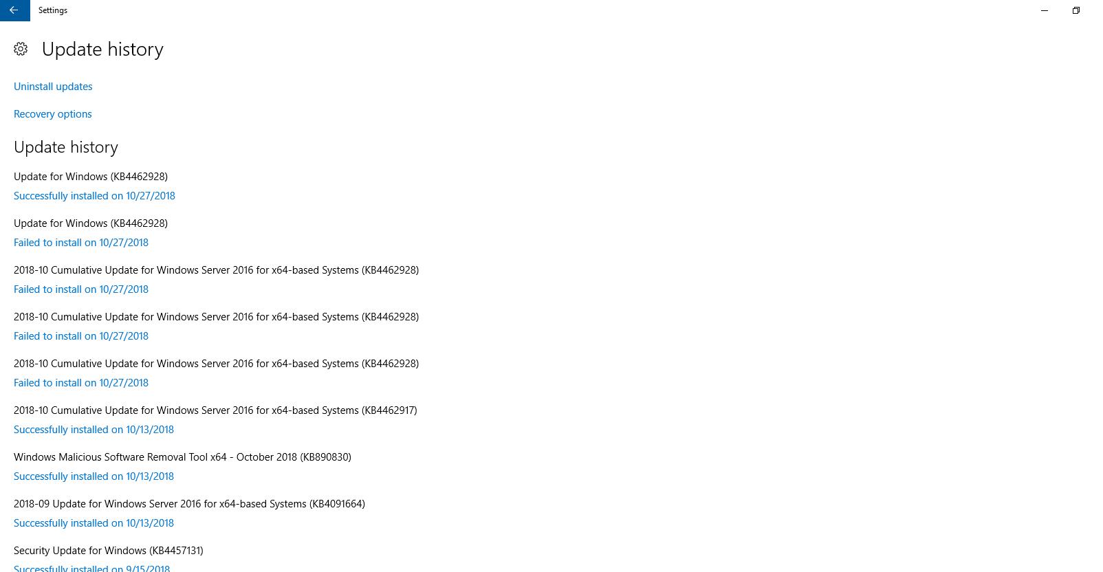 Powershell script to get list of all updates(windows updates/office