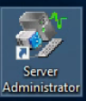 Dell Server Administrator Icon on Desktop