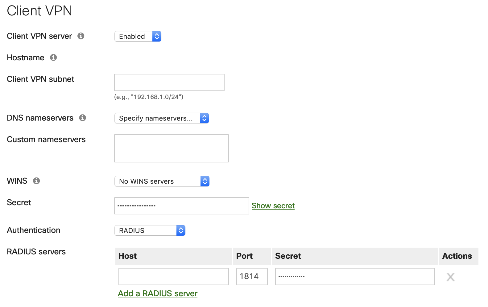Need help setting up Duo Security for 2FA with Meraki MX84 VPN
