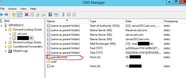 Autodiscover Office 365 Registry