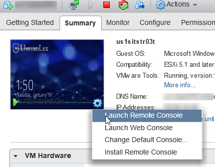 How to mount an ISO to Vsphere web-client? with your local PC