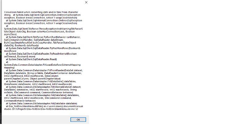 VB.Net error
