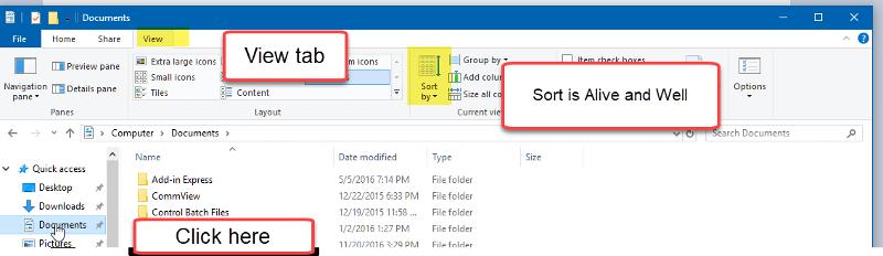 Windows-10-Quick-Access-Sort-