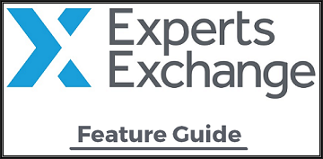 Experts-Exchange Feature Guide