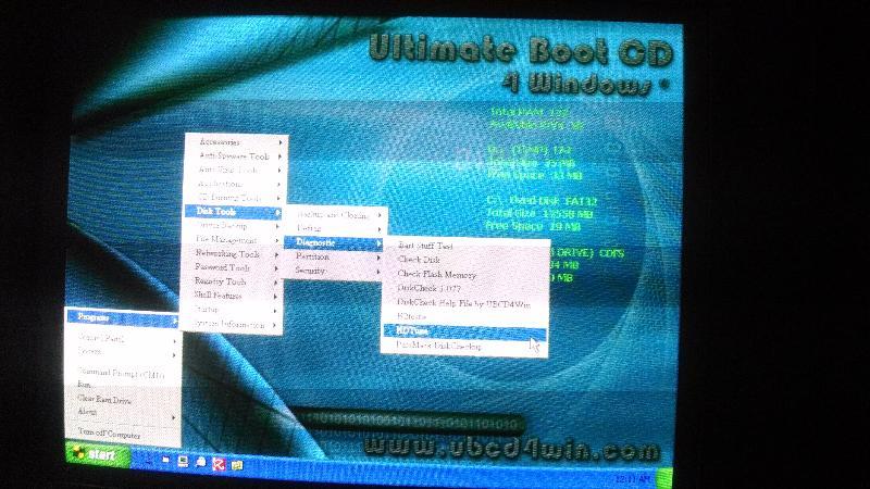 UBCD4WIN_Start-Programs-DiskTools-Diagnostic-HDTune
