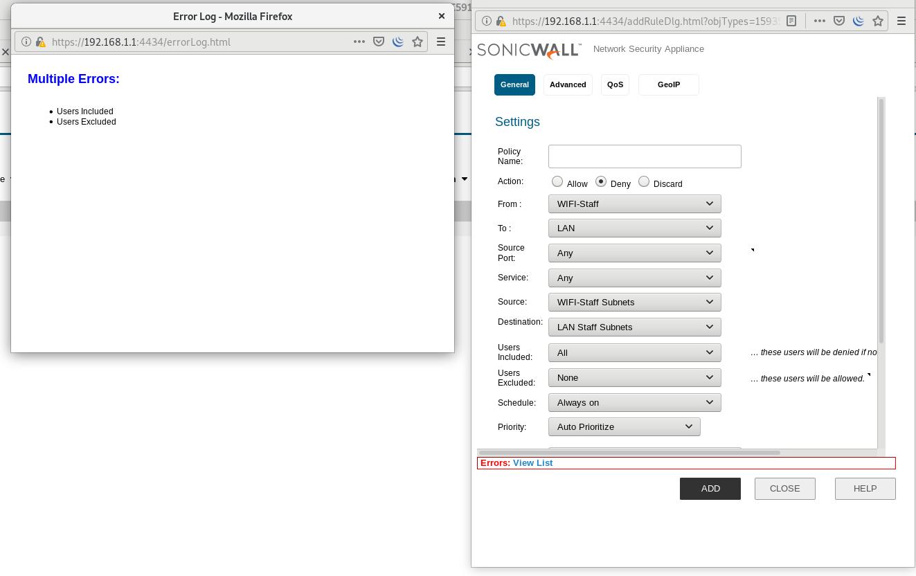 Hardware Firewalls Solutions