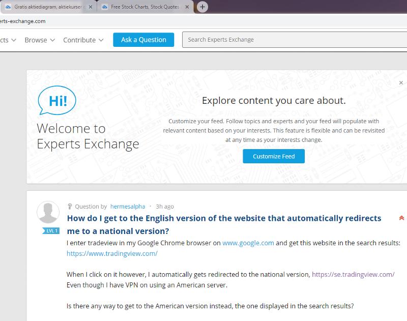 Chrome - both language landing pages (SE/EN)