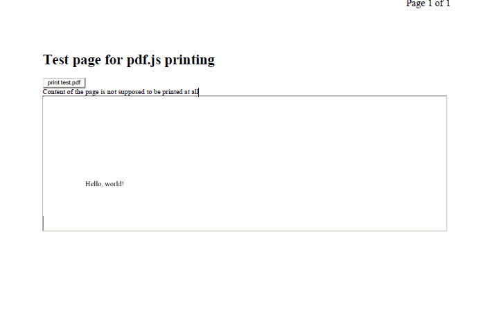 Silent printing in IE using PDF JS