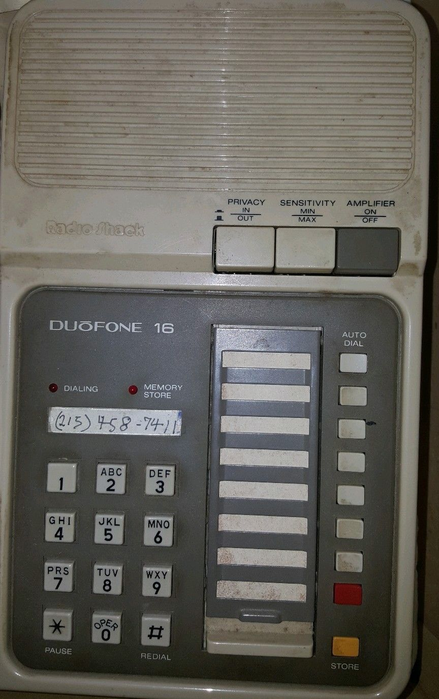 how can I create ID inserts for a Radio Shack Duofone 16?