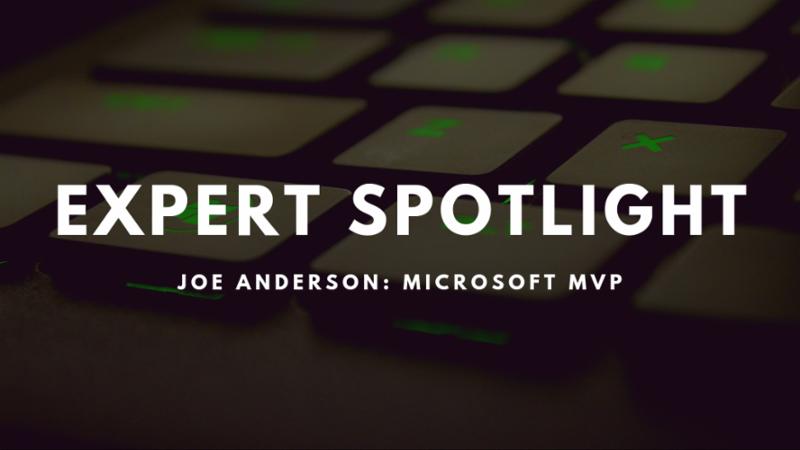 Joe Anderson Expert Spotlight