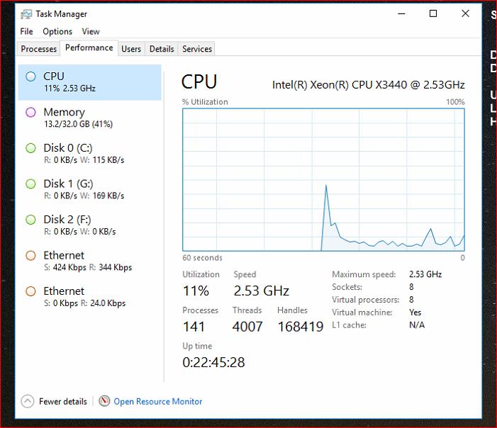 MY CPU setup