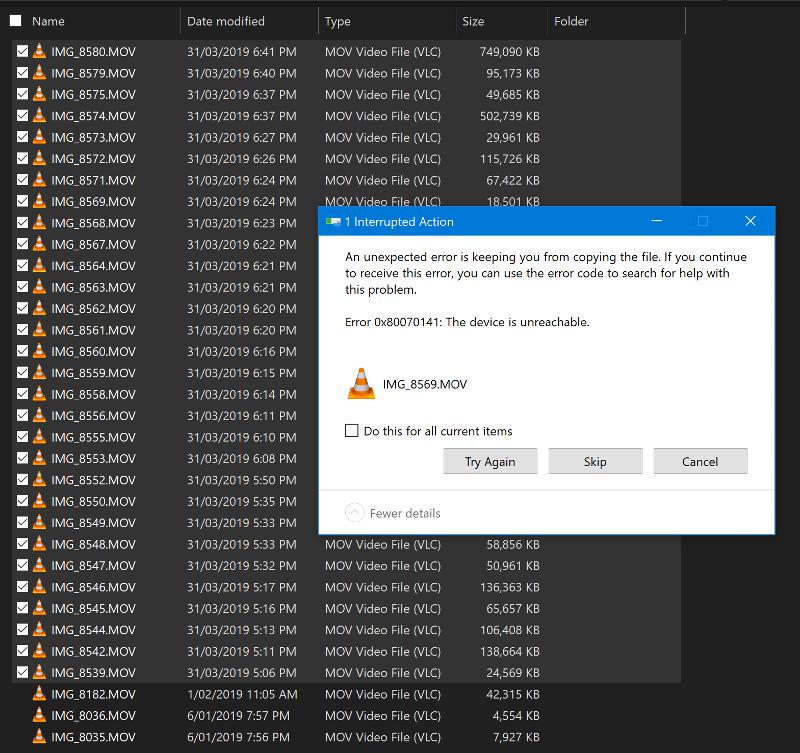 Windows Explorer issue