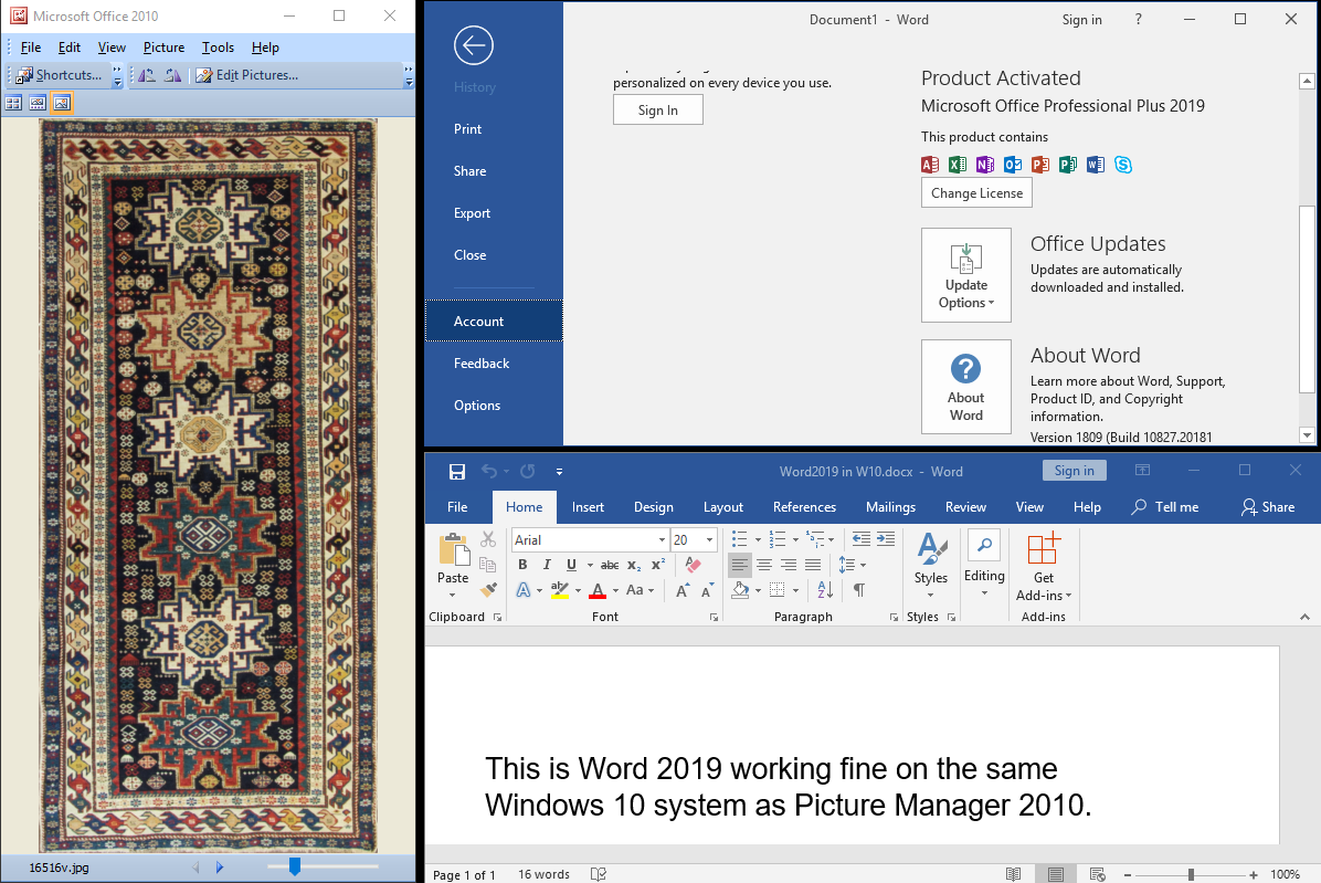 How to Install Microsoft Office Picture Manager in Office 2019