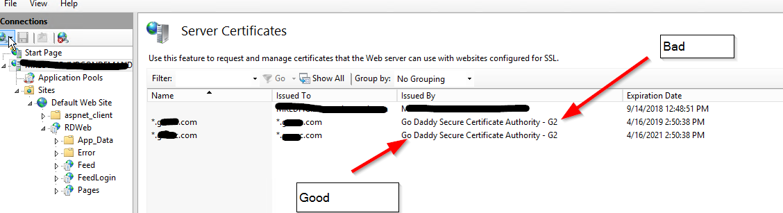 SSL / HTTPS Help