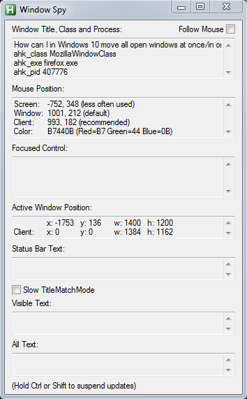 How to move all windows on one monitor to another monitor