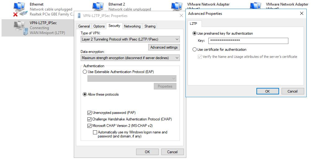 Internet Protocol Security Help