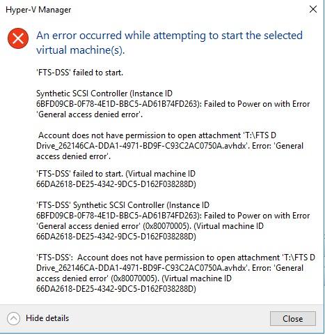 Kb4103723 error 0x80070005