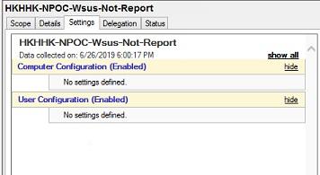 WSUS Help