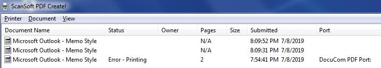 SCANSOFT PDF CREATE PRINTER WINDOWS 7 64BIT DRIVER