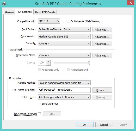 SCANSOFT PDF CREATE PRINTER WINDOWS XP DRIVER DOWNLOAD