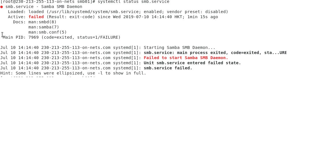 Smb Error Codes