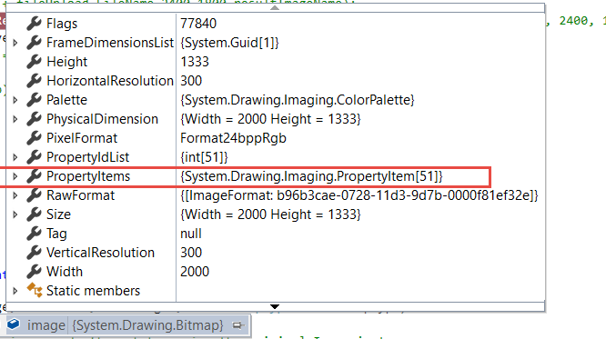 Please find below snap shot before before move to Bitmap object
