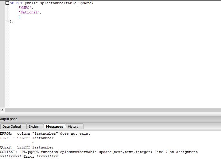 PostgreSQL Help