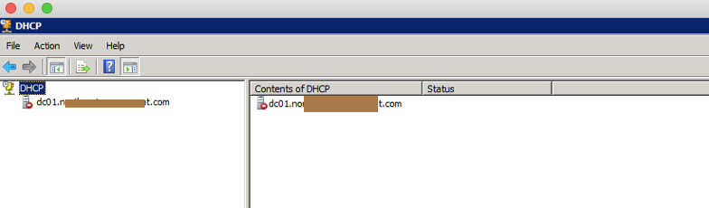 DHCP Help
