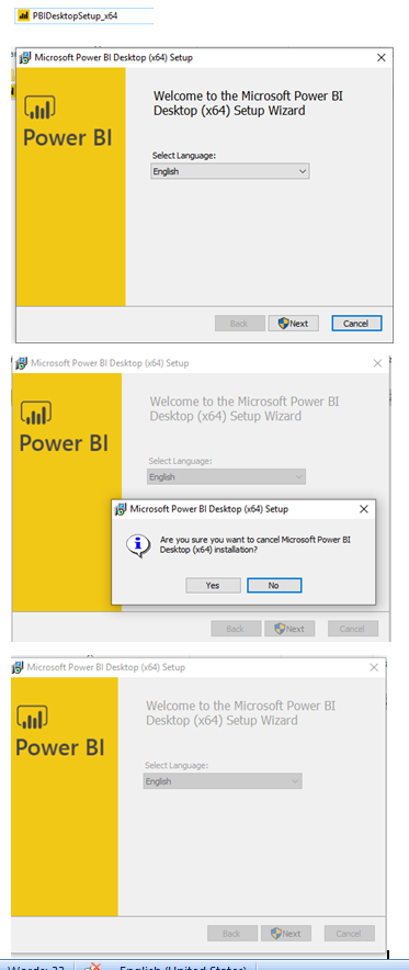 power BI issue
