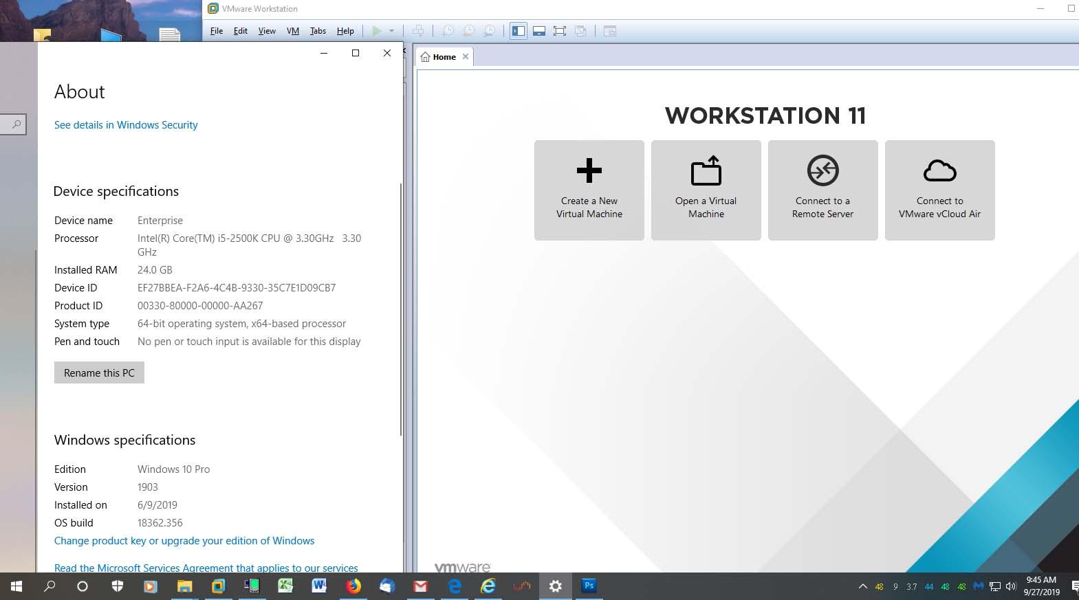 VMware Workstation Pro 12 5 9 Build X64 Serial Key