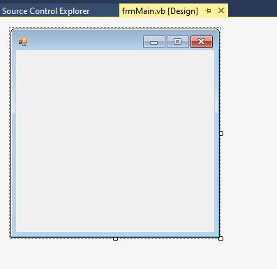 Design View screen