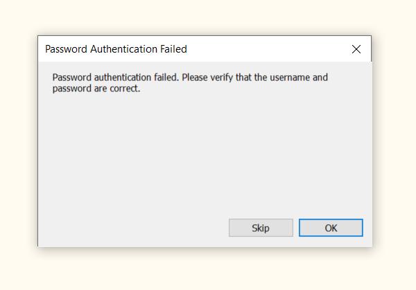 SecureCRT Error1