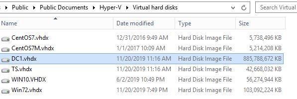 DC1 VHDX File